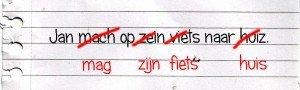 spellingscorrectie