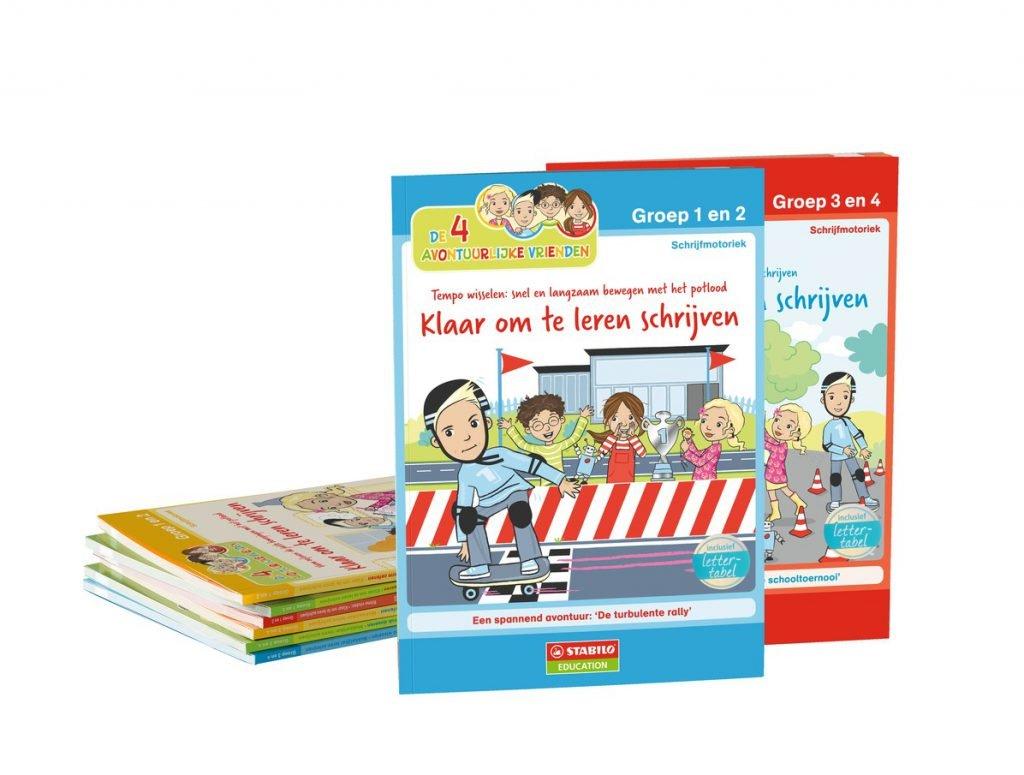 stabilo-oefenboekjes