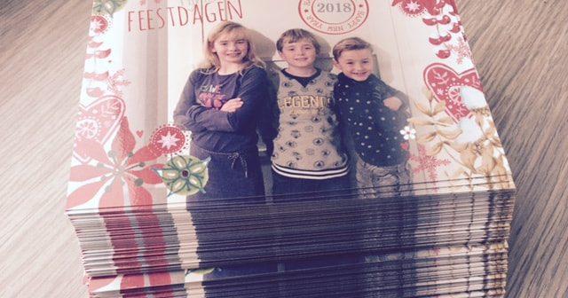 Persoonlijke kerstkaarten